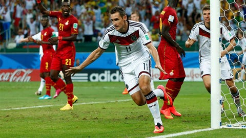 Germany and Ghana leave the drama until the second half