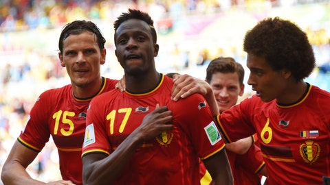 Belgium books its knockout round place