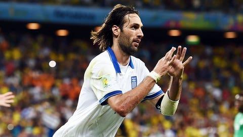 Greece advances with last-gasp winner over Côte d'Ivoire