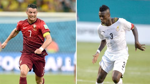 Ghana, Portugal tussle in the other Group G game