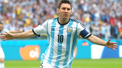 Messi stars for Argentina … again