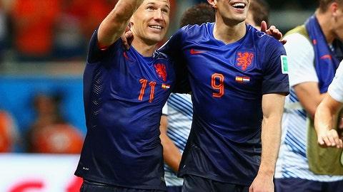 Arjen Robben, Robin van Persie (studs)