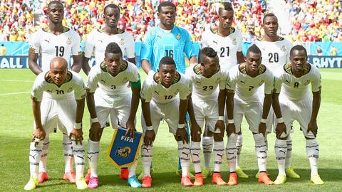 Ghana send stars home from World Cup for disciplinary reasons (June 26)