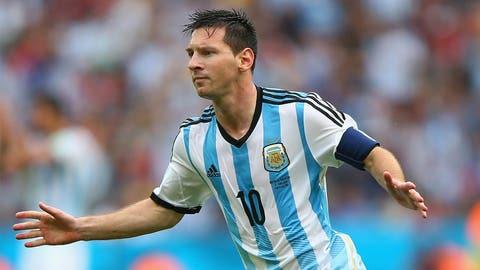Lionel Messi, CF (Argentina)