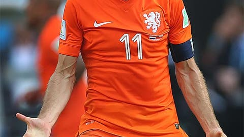 Arjen Robben, RW (Netherlands)