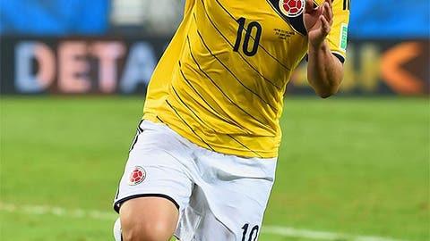 James Rodriguez, CM (Colombia)