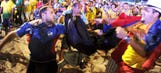 Report: World Cup fan stabbed at viewing party in Rio de Janeiro