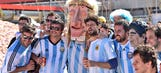 Police use stun grenades, tear gas on fans celebrating Argentina's win
