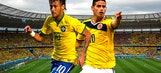 Brazil, Colombia rely on young rock stars to carry their World Cup hopes