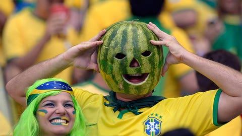 Head like a melon