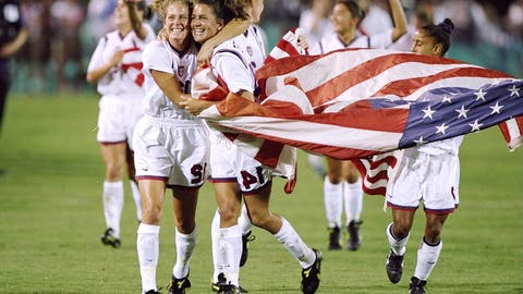 1996 Olympics, USWNT