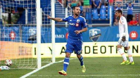 Jack McInerney, Montréal forward