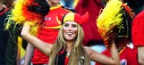 Belgian teen lands modeling contract after being photographed at World Cup