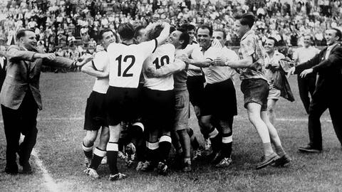 1954: Hungary 2 – West Germany 3 (Bern)