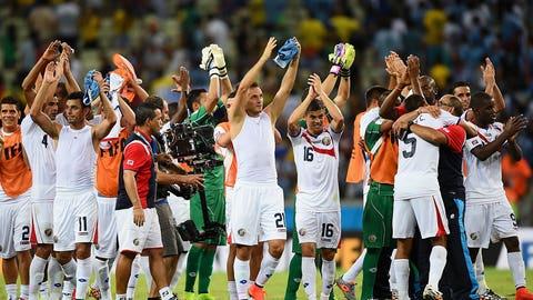 Costa Rica stun Uruguay (June 13)