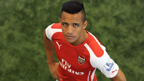 Alexis Sanchez, Arsenal – €76.3m