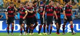 Euphoria put on hold for Germany until World Cup glory is reached