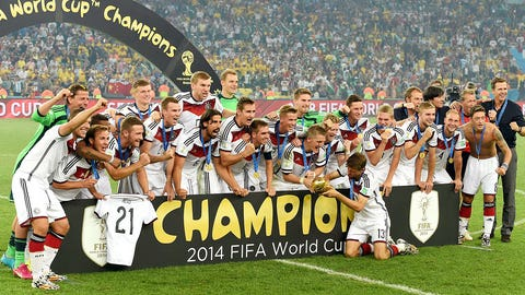 July runner-up: July 13 – Germany wins the World Cup
