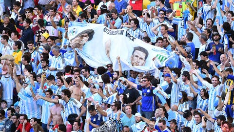 Sky blue support
