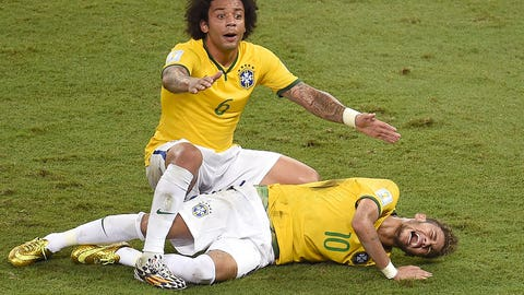 Neymar knocked out of the World Cup, Brazil crumble to Germany (July 4)