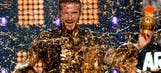 WATCH: David Beckham gets slimed at Nickelodeon awards
