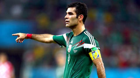 GK: Rafa Marquez