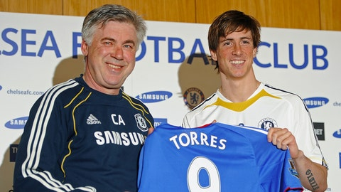 Fernando Torres (£50 million/$85 million, Liverpool to Chelsea, 2011)