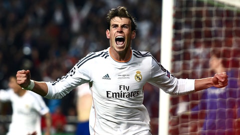 Gareth Bale (£86 million/$147 million, Tottenham to Real Madrid, 2013)