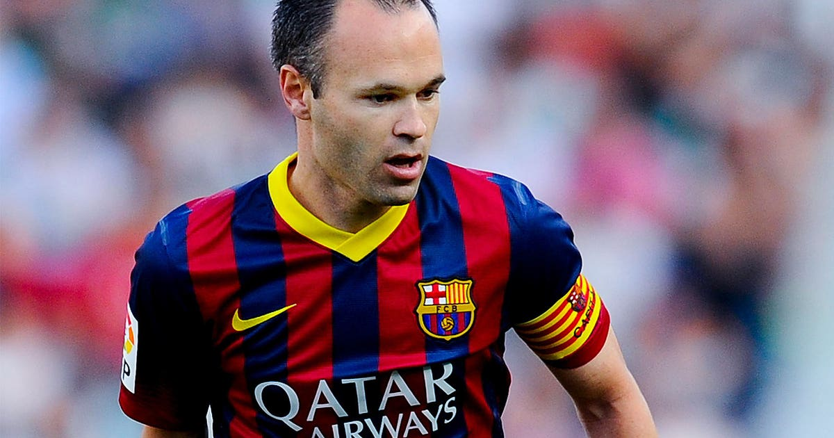 Iniesta Aspires To Wear Captain S Armband For Barcelona