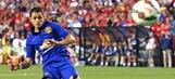 Atletico coach Simeone talks up idea of signing United's Chicharito