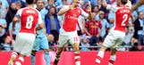 Arsenal wins Community Shield over uninspired Manchester City