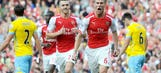 Ramsey helps Arsenal defeat city rival Crystal Palace in opener