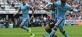 Champions Manchester City off to winning start at Newcastle