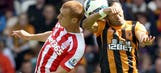 Ten-man Hull denied win by controversial Stoke equalizer