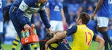 Arsenal worried Giroud may be out for three months with broken ankle