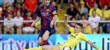 Barcelona escape with narrow win at Villarreal, remain perfect in La Liga