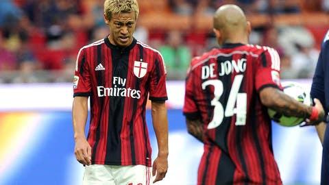 Losers: AC Milan