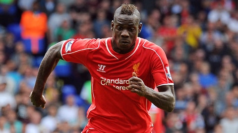 Mario Balotelli makes Anfield debut as Liverpool welcome Aston Villa (live, Saturday, 12:30 p.m. ET)