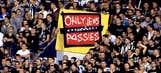 Tottenham boss slams banner brandished by Partizan fans