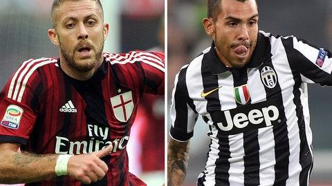 AC Milan take on Juventus at San Siro (live, Saturday, 2:45 p.m. ET)