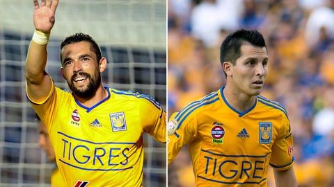 Herculez Gomez and Jose Torres, Tigres