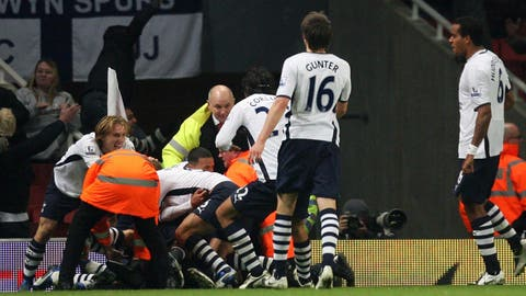 October 29, 2008: Arsenal 4 Tottenham 4
