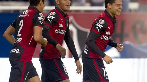 Surprise package Atlas aim to keep pace in Liga MX at Monterrey (live, Saturday, 8 p.m. ET)