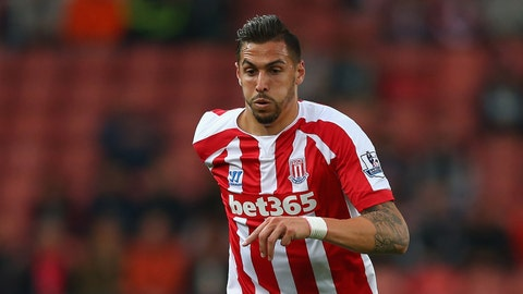 Geoff Cameron. Stoke City defender
