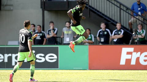 Obafemi Martins, Seattle forward