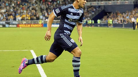 Dom Dwyer, Sporting Kansas City forward