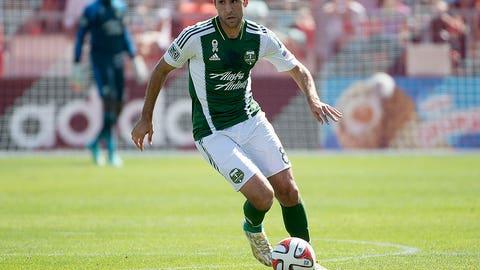 Diego Valeri, Portland midfielder