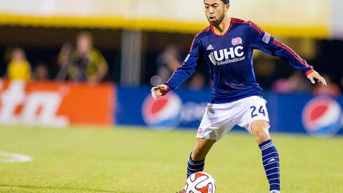 Lee Nguyen, New England midfielder