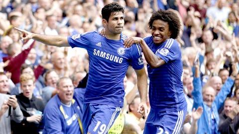 Chelsea (Last week: First)