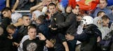 UEFA open disciplinary action on Serbia, Albania over violent brawl